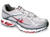Tênis Masculino Nike Air Max Moto 324910-161 Cinza/vermelho