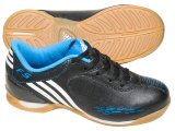 Tênis Masc Infantil Adidas f5 G25510  Preto/azul