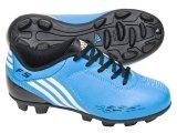 Chuteira Masc Infantil Adidas f5 Trx G25517 Azul/preto