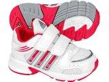 Tênis Uni Infantil Adidas Hyperrun G00699 Brac/verm