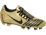 Chuteira Masculina Nike Total Shoot 318887-701 Preto/dourado