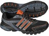 Tênis Masculino Adidas Zillian Synth G00194 Preto/laranja