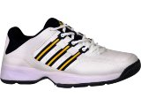 Tênis Masculino Adidas 598543 Branco/amarelo