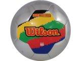 Bola Unisex Wilson H2010 Africa Prata/verm