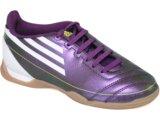Tênis Uni Infantil Adidas f5 G13542 Roxo/branco