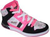 Tennis Bota Feminina Kolosh 9591 Preto/pink