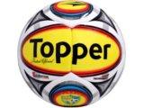 Bola Unisex Topper 4120718 Bco/amarelo/vermelho
