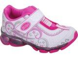 Tênis Fem Infantil Bibi 658009 Branco/pink