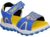 Sandália Masc Infantil Klin 704.001 Azul/amarelo