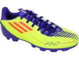 Chuteira Masc Infantil Adidas f5 Trx j G29949 Verde Limão/roxo