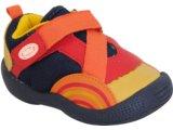 Tênis Masc Infantil Bibi 233050 Laranja/marinho