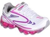 Tênis Fem Infantil Klin 581.020 Branco/pink