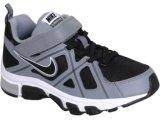 Tênis Masc Infantil Nike T-run 429897-001 Preto cinza b96a513dd9cee