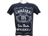 Camiseta Masculina Cavalera Clothing 01.01.6049 Preto