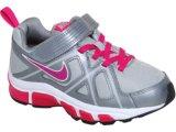 Tênis Fem Infantil Nike T-run 429901-003  Chumbo/pink