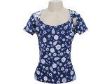 Blusa Feminina Dona Florinda 37389 Azul