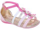 Sandália Fem Infantil Kidy 00203700351 Branco/pink