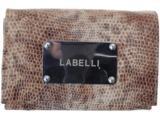Carteira Feminina Labelli 1304 Bege/marrom