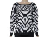Blusão Feminino Coca-cola Clothing 1403200015 Branco/preto