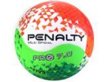 Bola Unisex Penalty 5212281790 Volei 7.0 Pro Viii Branco/laranja/verde