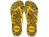 Chinelo Feminino Coca-cola Shoes Cc2102 Amarelo