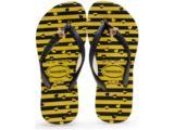 Chinelo Feminino Infantil Havaianas Slim Bugs Amarelo Citrico