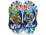 Chinelo Masc Infantil Grendene 25487 Patati-patata Baby Branco/azul