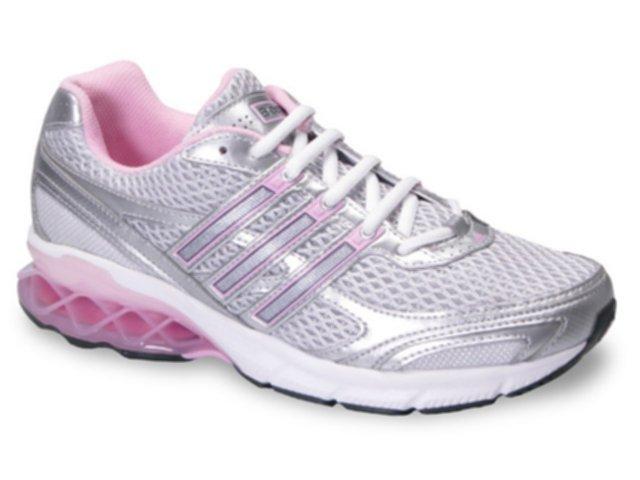 Tênis Feminino Adidas Boost G04523 Cinza/rosa