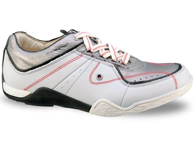 Sapatênis Masculino Ferracini 8830 Cinza/prata