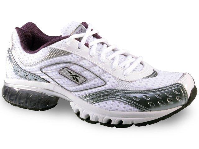 Tênis Feminino Reebok cs Run Branco/lilas