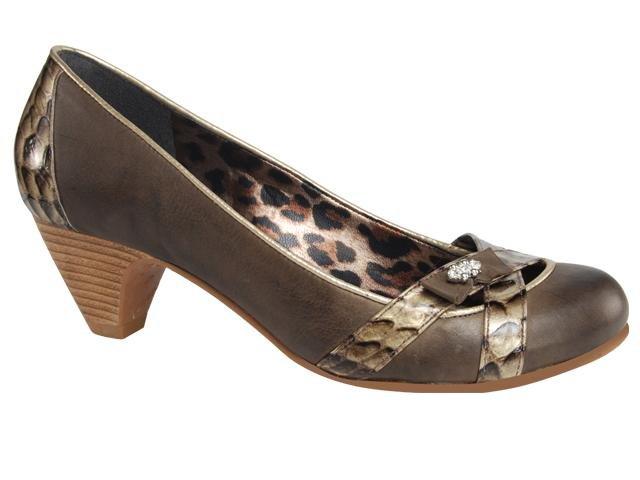 Sapato Feminino Tanara 9266 Chocolate