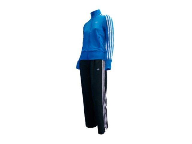 Abrigo Feminino Adidas E14704 Chumbo/azul