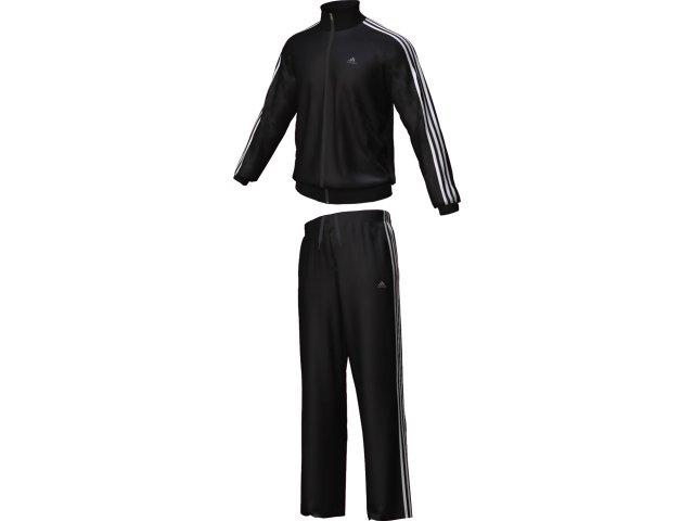 Abrigo Masculino Adidas E88021 Preto/branco