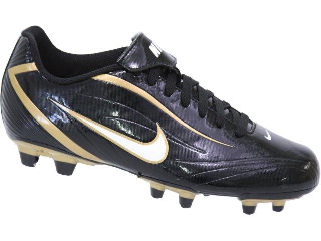 Chuteira Masculina Nike 316628-017 Preto/dourado