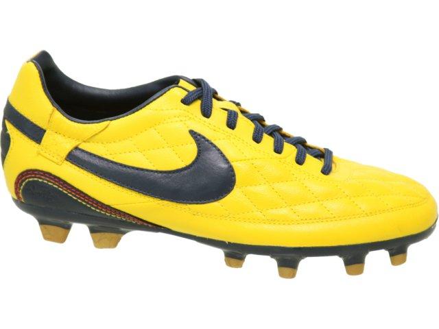 Chuteira Masculina Nike 324978-747 Amarelo