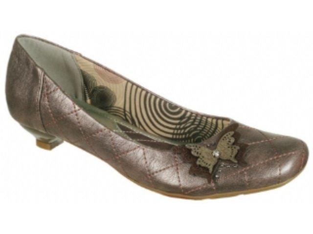 Sapato Feminino Via Marte 09-8204 Cobre