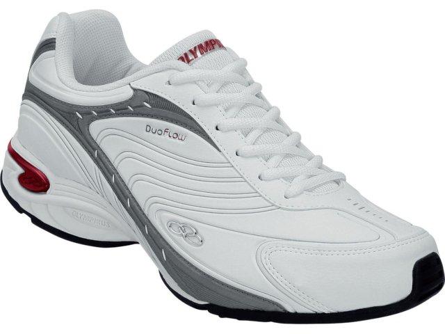 Tênis Masculino Olympikus Vigour 520 Branco/vermelho