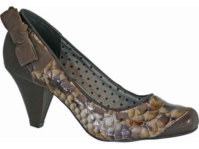 Sapato Feminino Tanara 9346 Chocolate