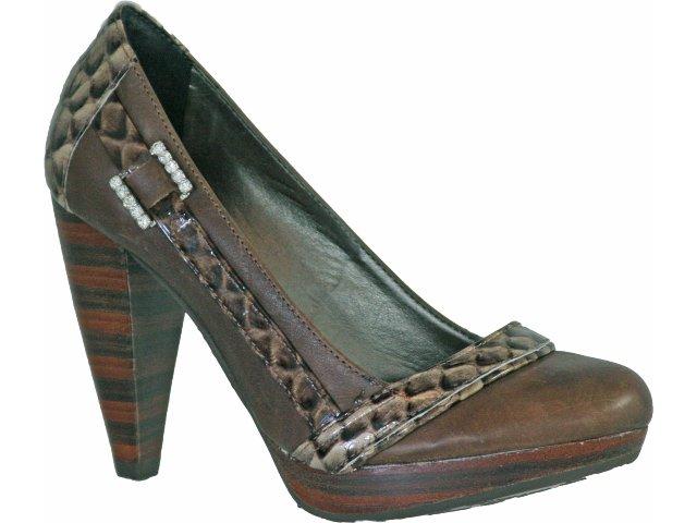 Sapato Feminino Tanara 9462 Chocolate