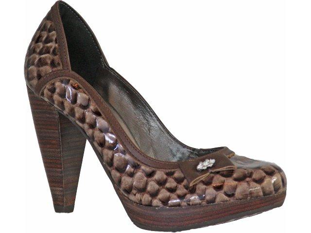 Sapato Feminino Tanara 9466 Chocolate