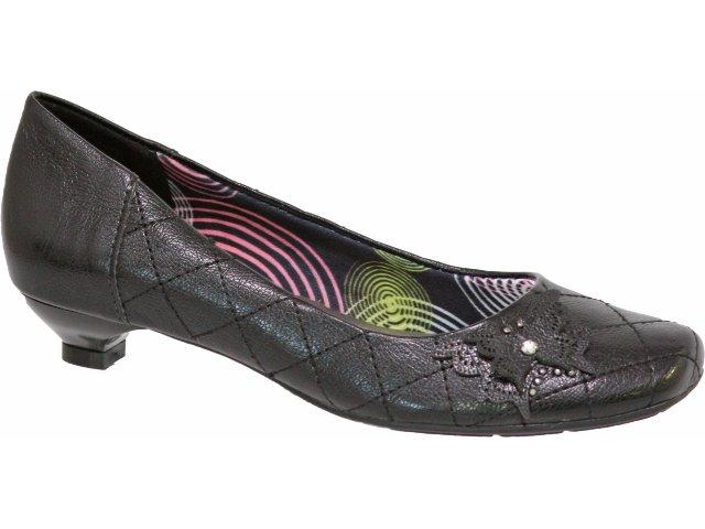 Sapato Feminino Via Marte 09-8204 Preto