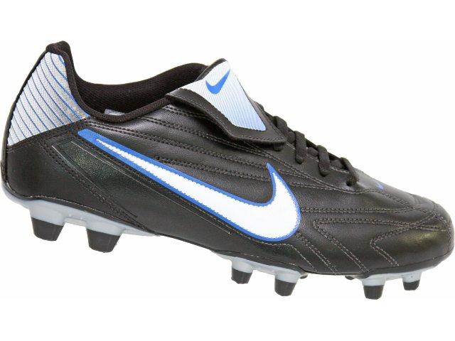 Chuteira Masculina Nike Premier 371626-011 Preto/branco/azul