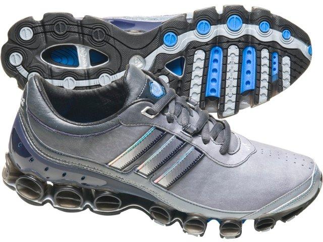 Tênis Masculino Adidas Mirobounce G01539 Cinza/marinho