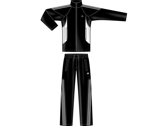 Abrigo Masculino Adidas P09146 Preto/branco