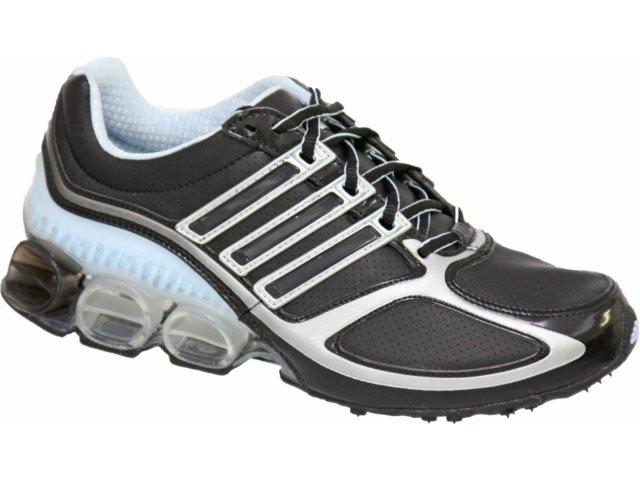 Tênis Feminino Adidas Megabounce Dlx 353173 Preto/azul