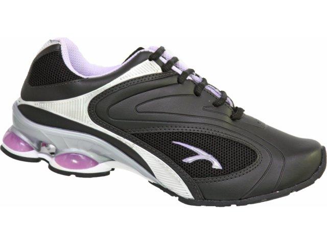 Tênis Feminino Kolosh 6344 Preto/violeta