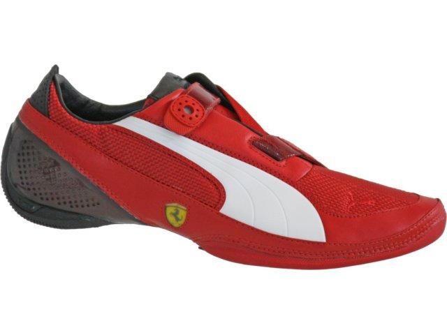 Tênis Masculino Puma 302366 Verm/branco