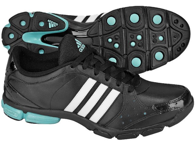 Tênis Feminino Adidas Core G03525 Preto/branco/azul