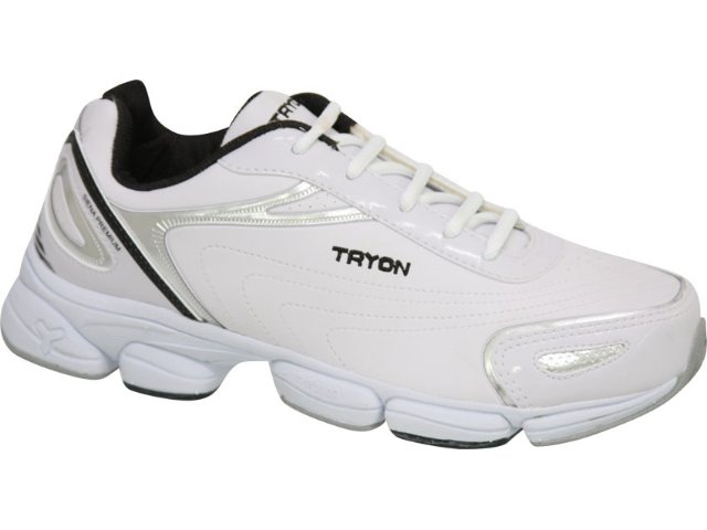 Tênis Masculino Tryon Siena Press Branco/preto