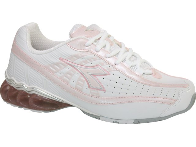 Tênis Feminino Diadora Tornante 350587 Branco/rosa